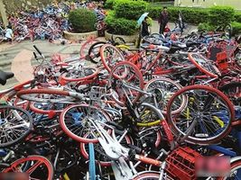 数千共享单车被弃,企业为啥不心疼