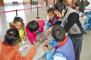 西藏自然科学博物馆首届实验课开课啦