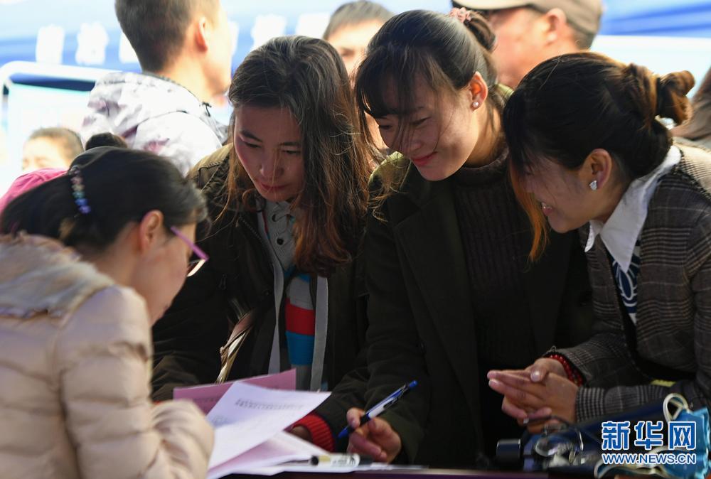 Tibet holds spring job fair