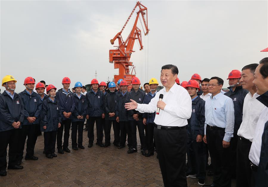 Xi urges Guangxi to play bigger role in Belt and Road