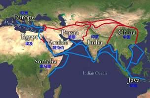我国北方海上丝绸之路的产生
