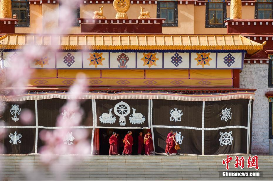 A visit to Tibet Buddhism Academy