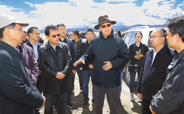 Wu Yingjie: Tibet soll den Bau land- und wasserwirtschaftlicher Einrichtungen verstärken