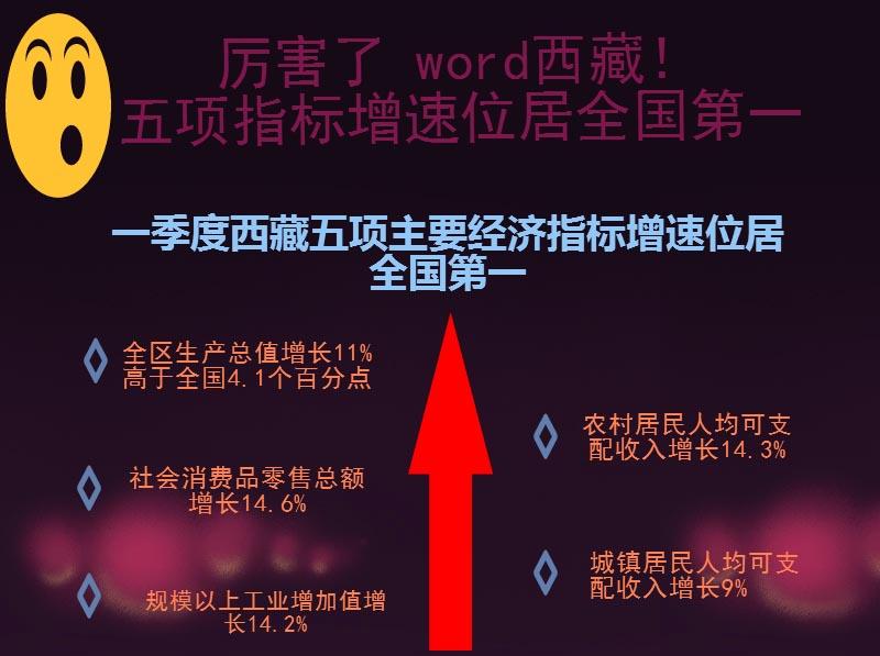 厉害了 Word西藏!五项指标增速位居全国第一