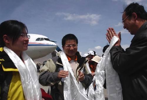 15. Funktionäre zur Tibet-Unterstützung offiziell angetreten
