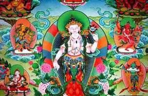 中国西藏唐卡及摄影作品展亮相尼泊尔