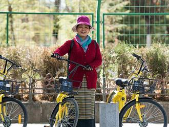 """共享单车""""骑进""""雪域西藏"""