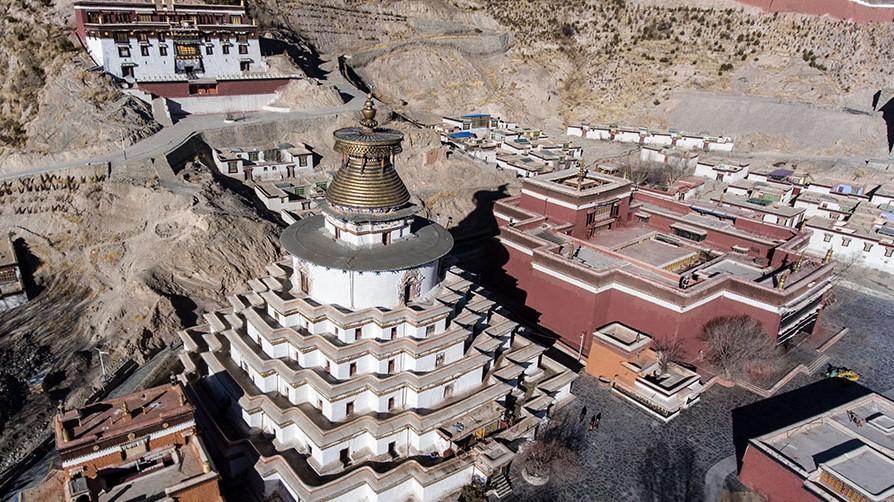 Bilderserie zum Palkor-Kloster