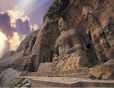 Buddhastatuen der Yungang-Grotten werden wiedergeboren