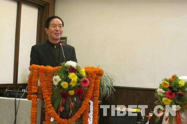 """加强对外联通,推进西藏""""一带一路""""建设"""