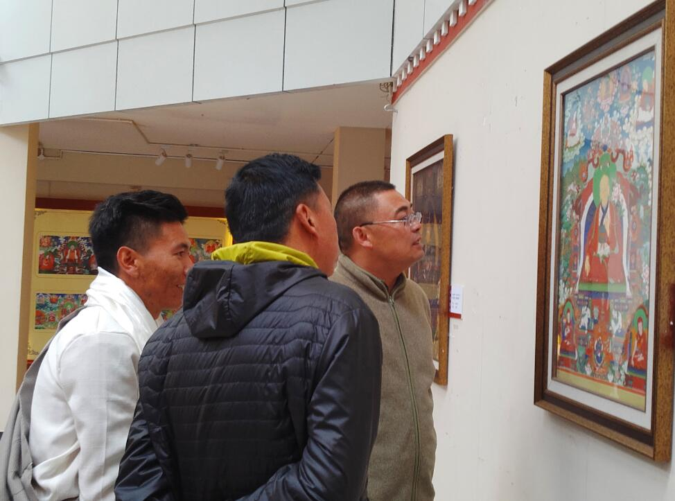 Exhibition on Miansa thangka held