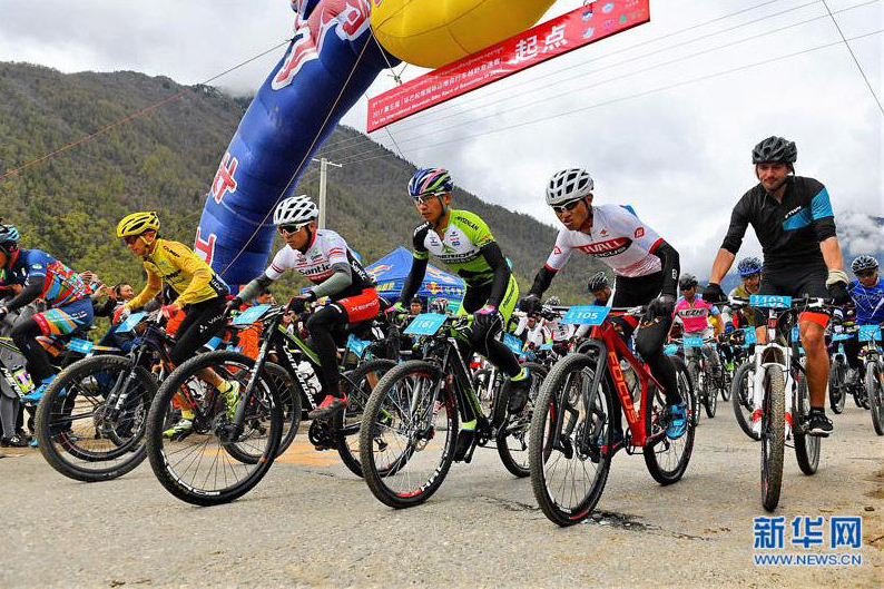 Tibet becomes hot for outdoor enthusiasts