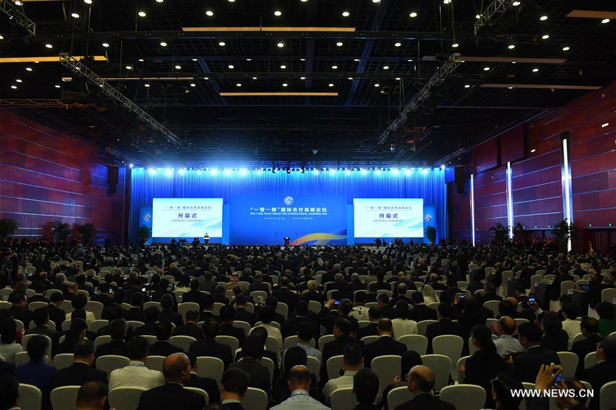 Chinese president inaugurates Belt and Road forum
