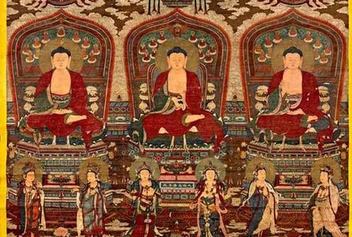 Versteigerung buddhistischer Ming-Gemälde