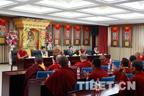 Abschlussfeier 2017 des hohen buddhistischen Instituts