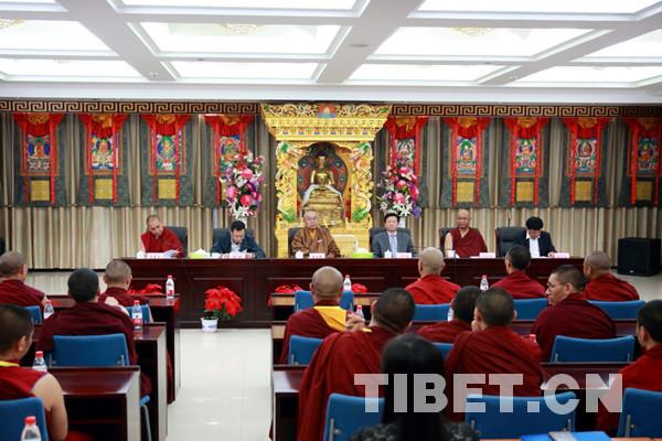 High-level Buddhism College of China holds graduation ceremony for monks