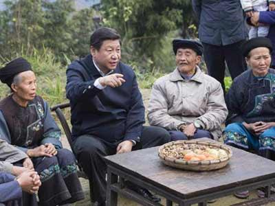 Leistungen bei der Armutsbekämpfung in China