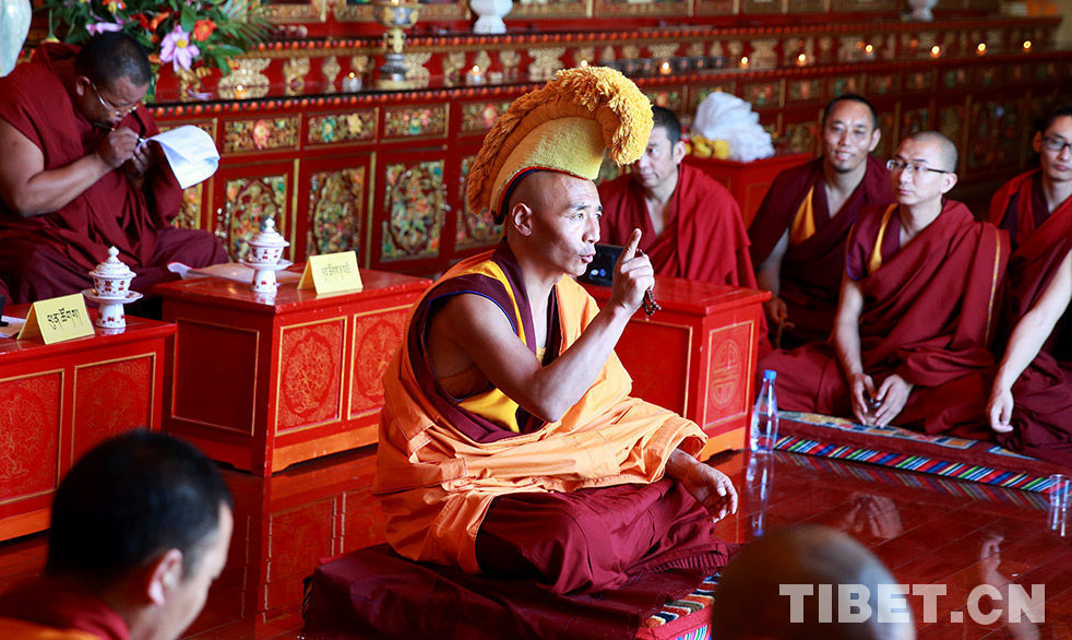 Exam for advanced, intermediate Tibetan Buddhism degree begins