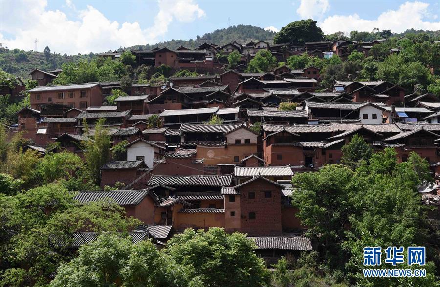 Das historische Dorf Nuodeng in Yunnan