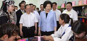Sun Chunlan: Einheitsfront-Arbeit soll die Armutsbekämpfung unterstützen.