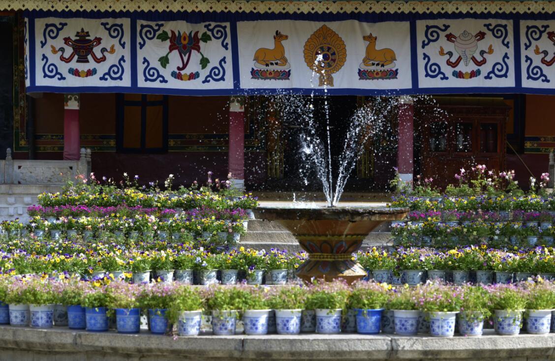 """Norbulingka – der """"Garten des Schatzes"""""""
