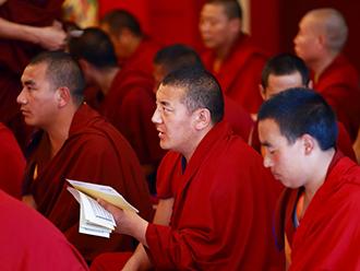 中国藏语系高级佛学院2017年举办祈祷法会