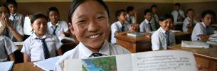 Regierung von Yushu baut Mittelschule in Nepal