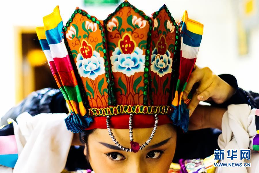 Young director elevates Tibetan opera to a new stage