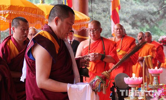 China feiert den Geburtstag Buddhas