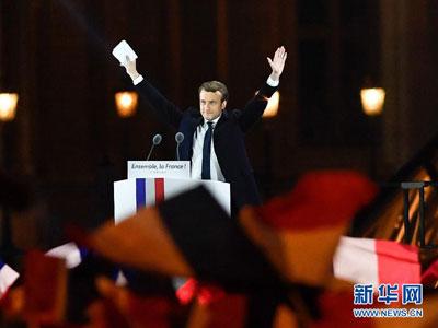 Frankreich: Emmanuel Macron wird neuer Präsident