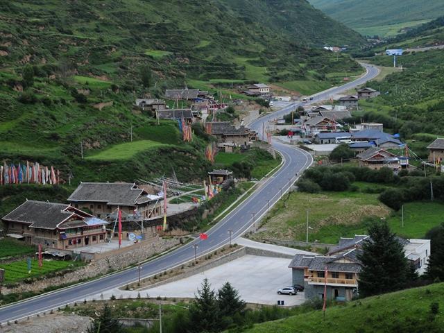 Das sparsame Leben im tibetischen Dorf