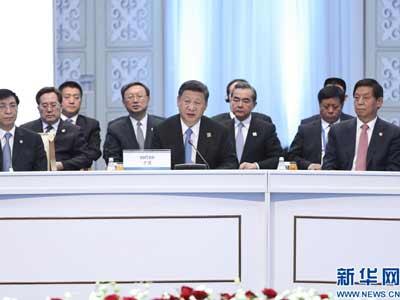 SCO-Gipfel in Astana: Xi Jinping für gemeinsame Sicherheit und Errungenschaft