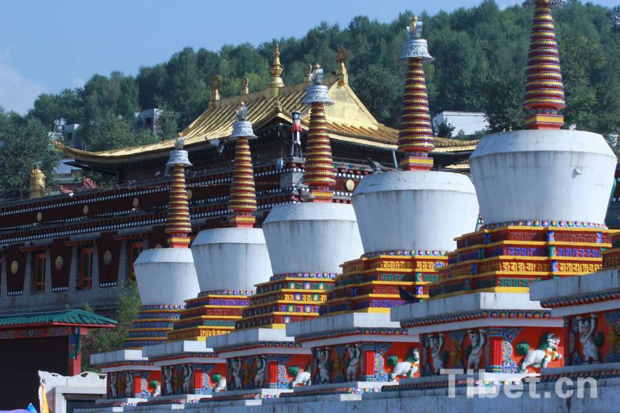 Hundreds of Tibetan Buddhist monasteries renovated in Qinghai