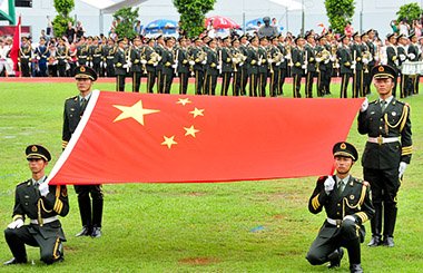 Xi commends outstanding PLA company in HK