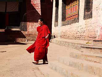 强巴林寺的僧人