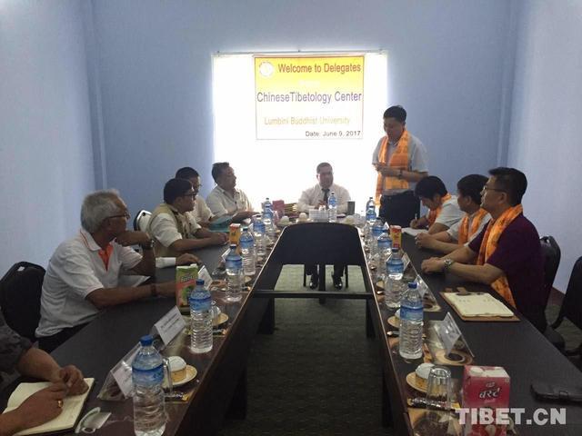 Chinese scholars visit Lumbini for academic exchange