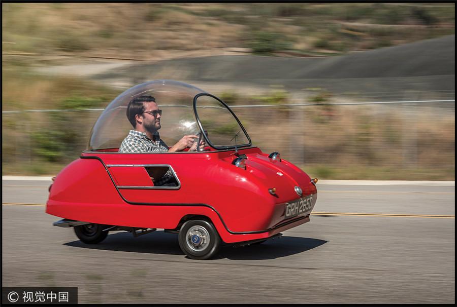 Auto mit weltweit kleinstem Hubraum wird versteigert