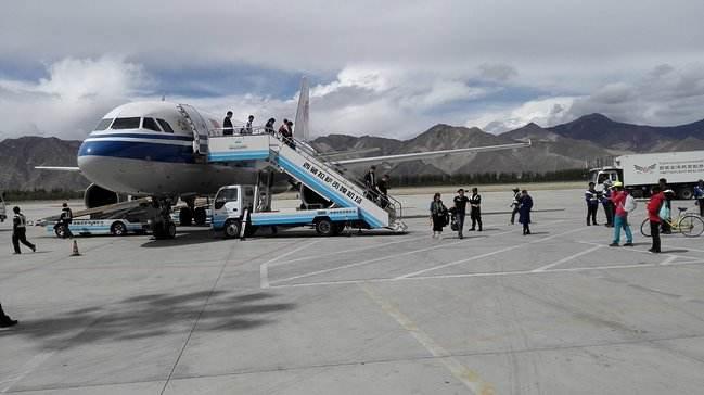 """西藏自治区各机场进入""""刷脸""""时代"""