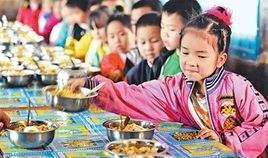 学生营养改善计划实施5年:近半数营养餐不达标