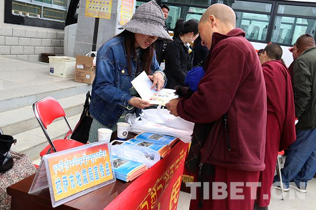 Science and technology promotion activities carried out in monasteries
