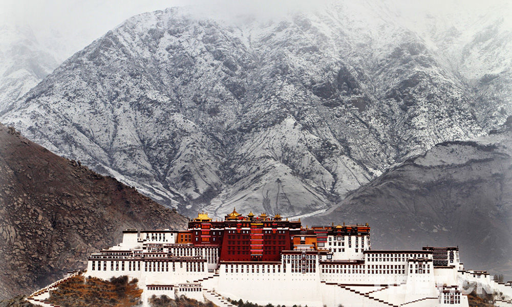 Tibet's Potala Palace embraces modern toilets