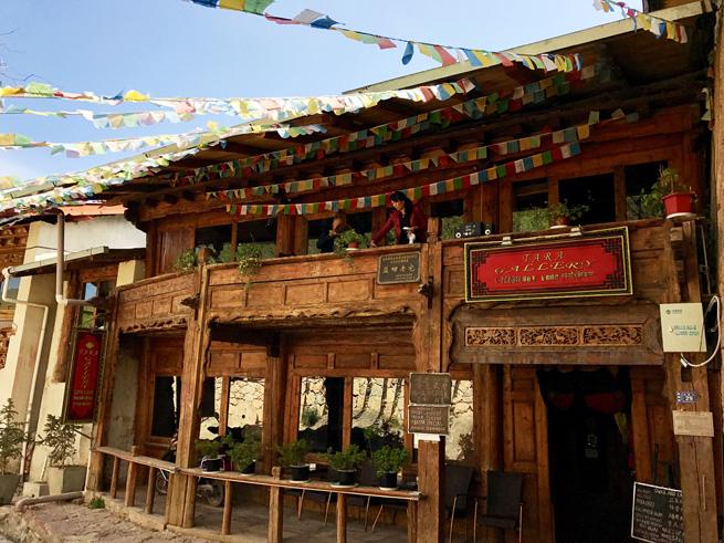 Alte Gebäude in Dêqên