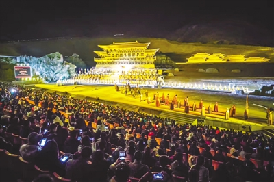 Fifth season of the Princess Wencheng stage performance opens