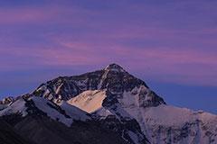 千姿百态的珠穆朗玛峰