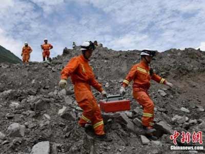 Erdrutsch in Sichuan: 10 Tote geborgen