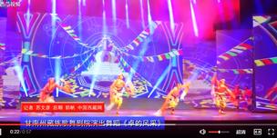 视频|甘南州藏族歌舞剧院演出舞蹈《卓的风采》