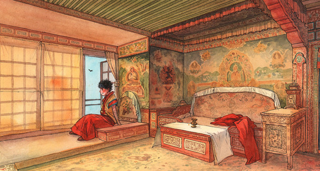 Reise zur Suche nach Tsangyang Gyatso