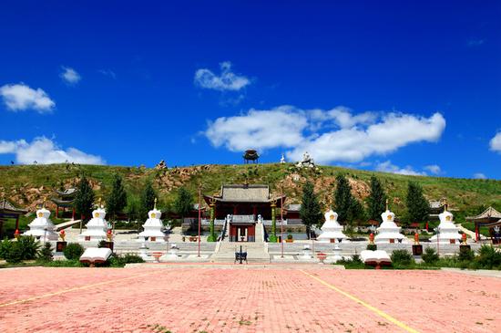 Wulan Wutai: Heilige Prärie im tibetischen Buddhismus