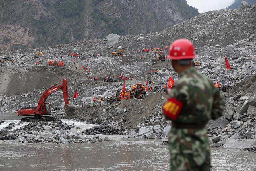 Rescue efforts underway after devastating landslide in Sichuan