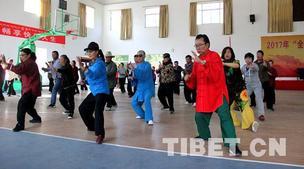 """2017""""全民健身武术走基层""""活动来到西藏"""